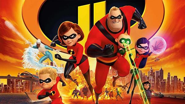 Incredibles là tựa phim hấp dẫn mọi đối tượng.