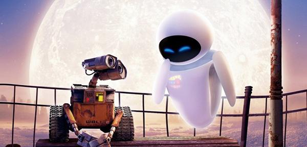 Chuyện tình của Wall-E từng lấy nhiều nước mắt khán giả.