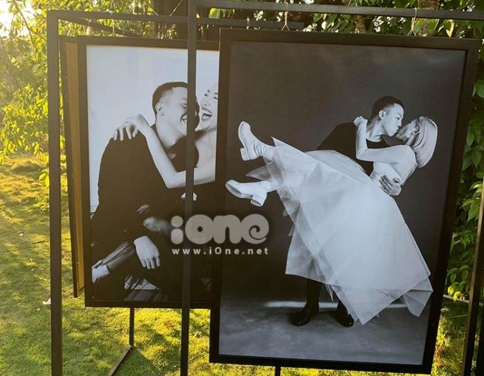 Ảnh cưới của Tóc Tiên - Hoàng Touliver.