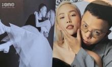 Ảnh cưới chưa từng công bố của Tóc Tiên - Touliver