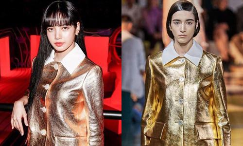 Mặc đồ siêu kén dự show Prada, Lisa được khen đẹp hơn người mẫu