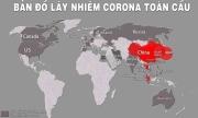 Bản đồ Covid-19: 3 'ổ dịch' lớn đều nằm ở châu Á
