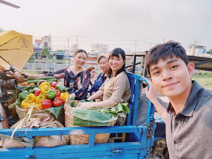 Jun Phạm hợp tác với hai diễn viên đàn chị Khánh Huyền, Lê Khánh trong một bộ phim mới.