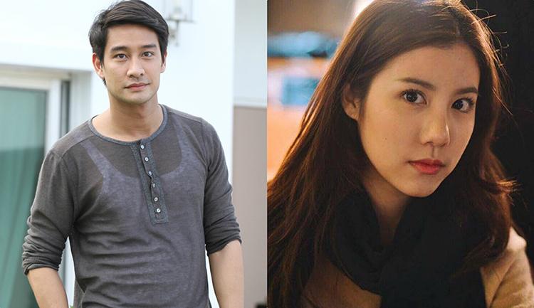 Cặp diễn viên chính Pong Nawat vàEsther Supreeleela.