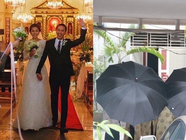 An ninh thắt chặt trong đám cưới Hà Tăng.