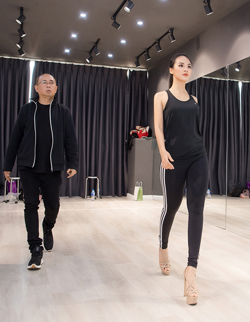 Đang ở giai đoạn nước rút trước chung kết Miss Charm 2020, Quỳnh Nga 'lên dây cót' tinh thần, tập trung cao độ với quyết tâm thể hiện  tốt vai trò là đại diện cho nước chủ nhà trước bạn bè quốc tế.
