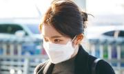 Jung Kook lộ tóc mới, Irene đeo khẩu trang vẫn xinh ở sân bay
