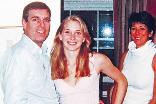Bức hình làm chứng hoàng tử Andrew từng gặp Virginia Roberts Giuffre (giữa), tú bà Ghislaine Maxwell đứng ở bìa phải.