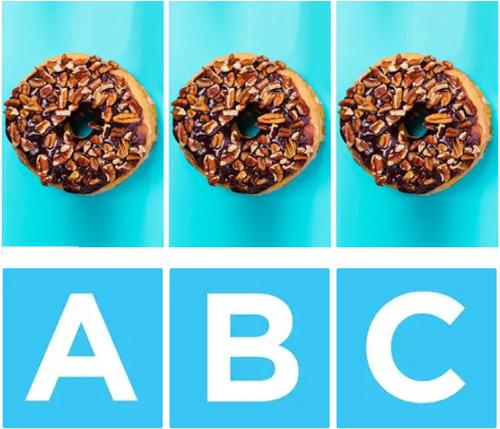 7 thử thách bánh doughnut khiến bạn nhức mắt