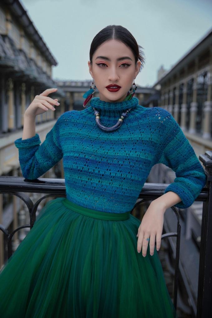 <p> NTK Lê Thanh Hòa nhận xét Lương Thuỳ Linh là một hoa hậu thông minh, chín chắn và cầu toàn.</p>