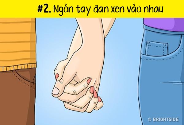 Phơi bày mối quan hệ qua cách nắm tay - 1