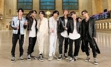 BTS kiệt sức sau màn trình diễn 'ON' tại Mỹ