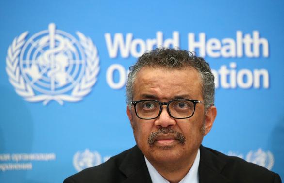 Tổng giám đốc WHO. Ảnh: Reuters.