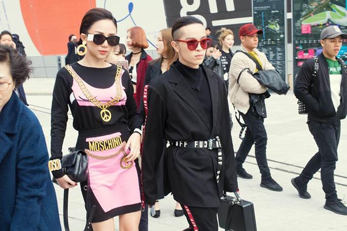 Seoul Fashion Week là nơi tụ hội tấp nập của giới thời trang châu Á, trong đó có cả các sao Việt.