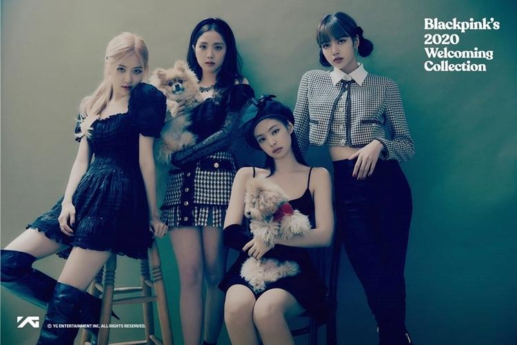 Girlgroup YG vừa phát hành sách ảnh Black Pinks2020 Welcoming Collection.