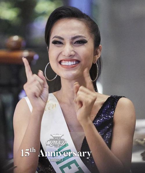 Hoài Sa đang cùng 20 thí sinh thi thố tại Thái Lan để giành vương miện Miss International Queen 2020 (Hoa hậu chuyển giới quốc tế). Đại diện Việt Nam được đánh giá có nhan sắc khá nổi bật với nụ cười rạng rỡ, thường xuyên lọt vào ống kính của các nhiếp ảnh gia quốc tế.