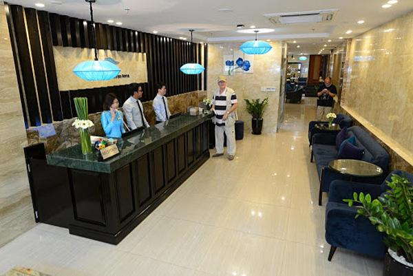 Không gian bên trong khách sạnHanoi Emerald Waters Hotel.