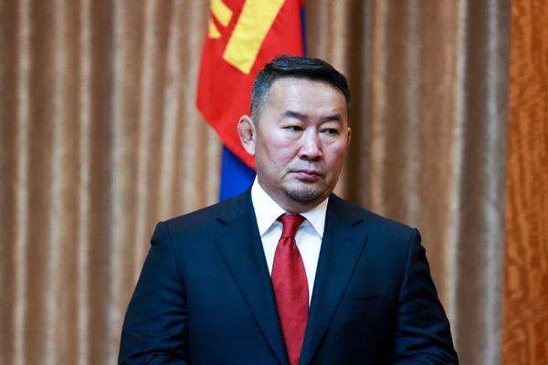 Tổng thống Khaltmaagiin Battulga. Ảnh: