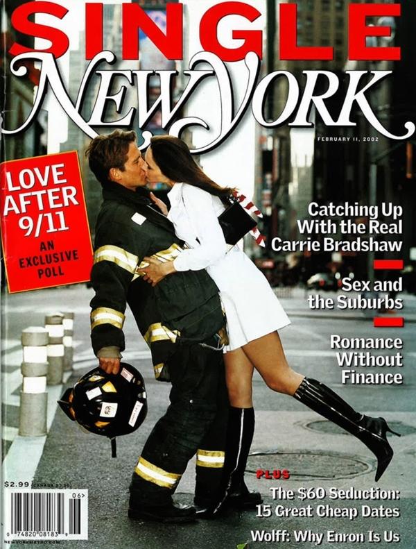 Melania Trump từng làm người mẫu cho tang bìa tạp chí New York tháng 2/2002.
