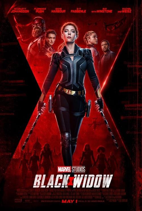 Poster mới nhất của Black Widow.