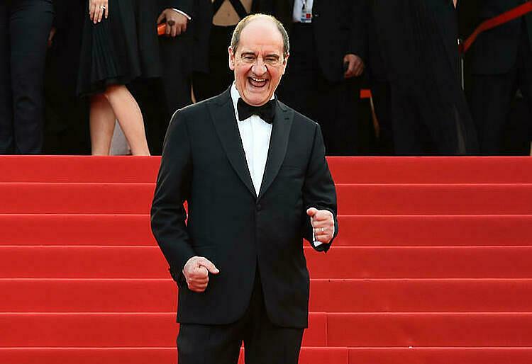 Chủ tịch  Pierre Lescure tại LHP Cannes 2015. Ảnh: AFP.
