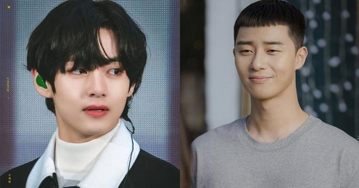 V và nam chính phim Itaewon Class, là những người bạn thân ngoài đời.