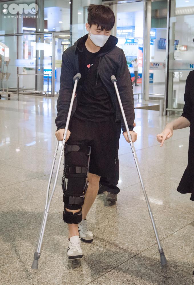 <p> Sau khi hoàn thành ca phẫu thuật, Duy Mạnhphải nghỉ thi đấu đến hết năm 2020 để tập trung phục hồi chấn thương.</p>