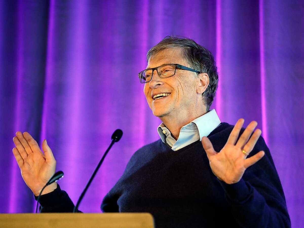 Tỷ phú, nhà sáng lập Microsoft, Bill Gates. Ảnh: AP.