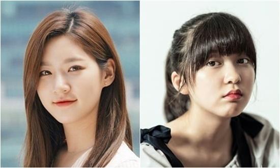 Kim Sae Ron (trái) thay thế Ahn Seo Hyun làm nữ chính.