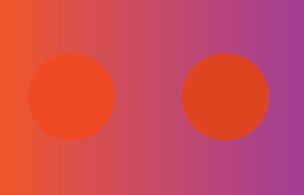 Hình tròn nào tối hơn? - 1