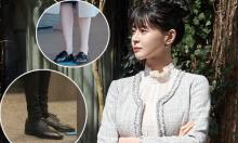 Mỹ nhân 'Itaewon Class' lăng xê 3 kiểu giày 'đẹp mà không đau chân'