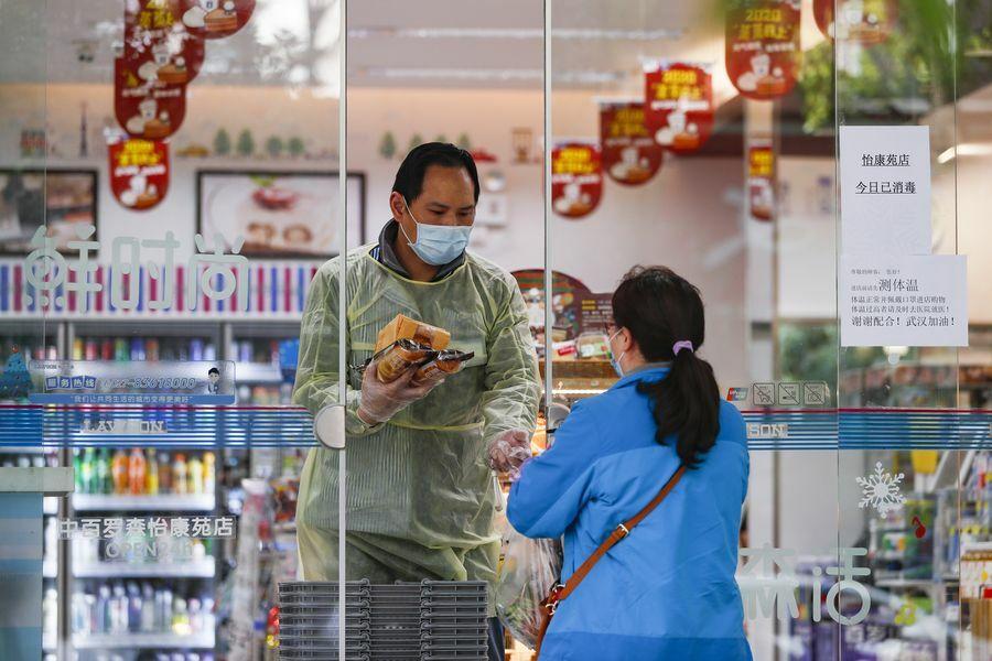Nhịp sống ở Vũ Hán, tâm dịch tại Trung Quốc, đang dần trở lại bình thường. Ảnh: Xinhua News.