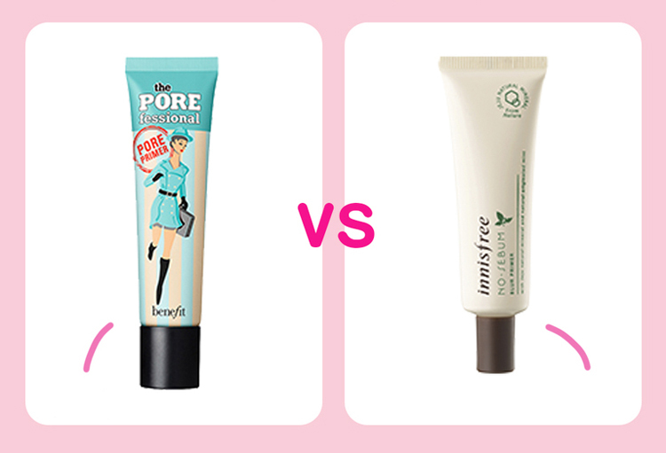 Muốn tìm một sản phẩm kem lót hiệu quả giúp che mượt lỗ chân lông, kiềm dầu trước khi trang điểm, bạn có thể chọn Benefit Pore fessional giá khoảng 1 triệu đồng nếu ví tiền rủng rỉnh. Còn muốn tiết kiệm, hãy thử Innisfree No Sebum Blur Primer giá hơn 300k.