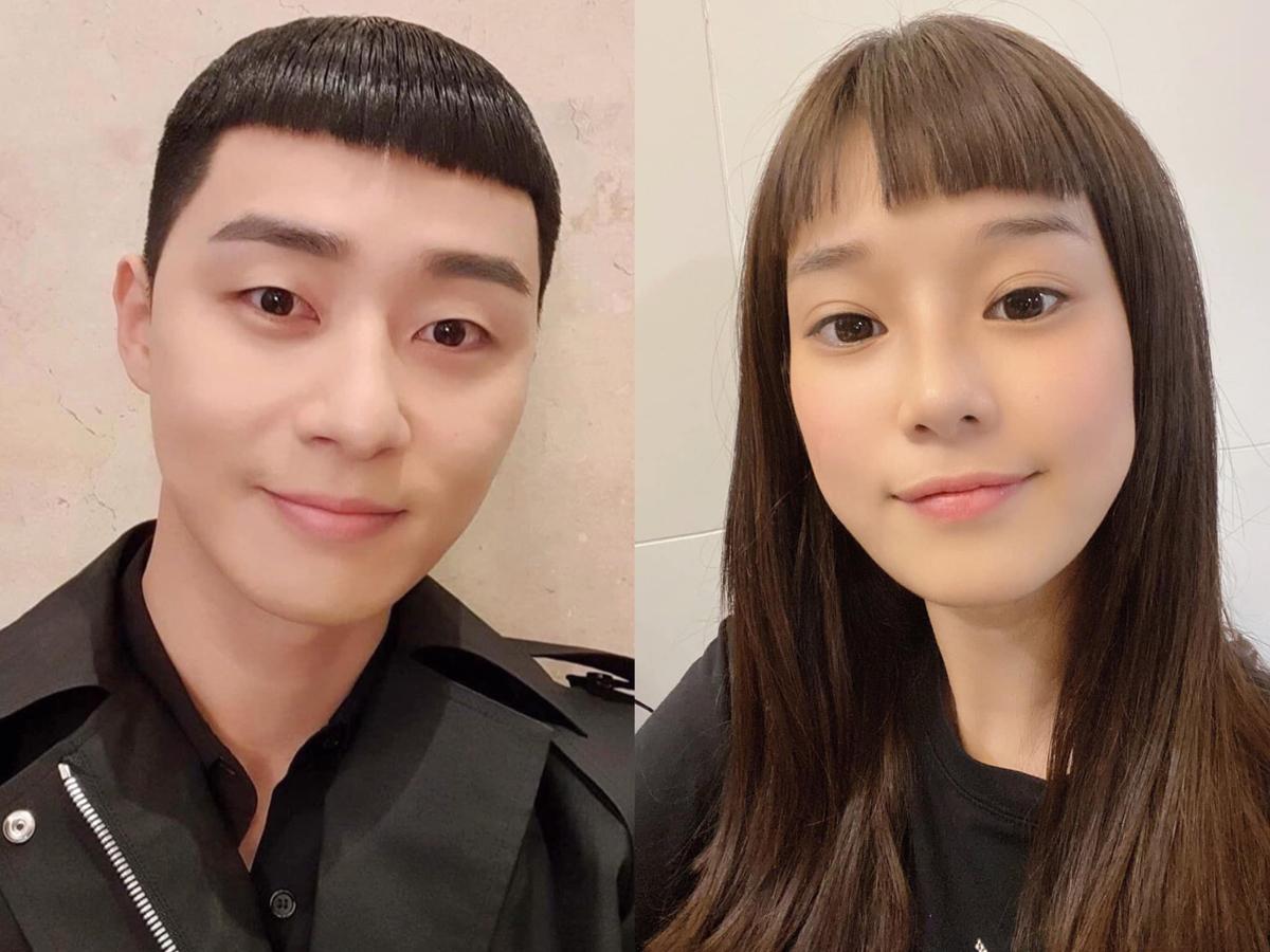 Cắt tóc mái ngố giống Park Seo Joon trong Itaewon Class, Hoàng Yến Chibi được khen giống nam diễn viên như anh em.