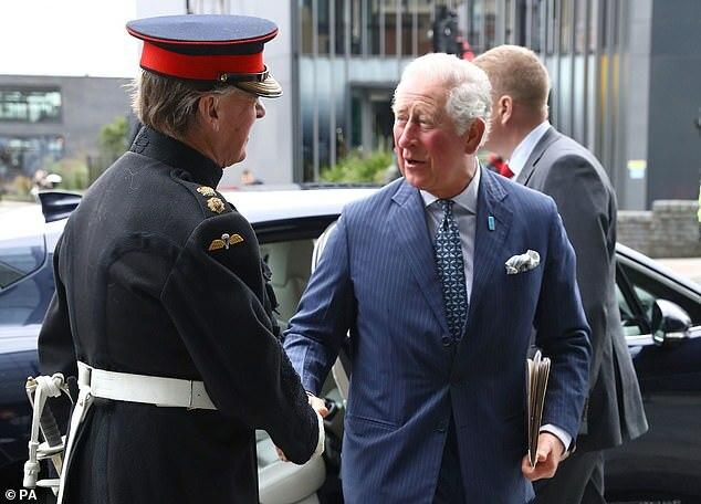Hoàng tử Charles tại sự kiện Nước và Khí hậu.