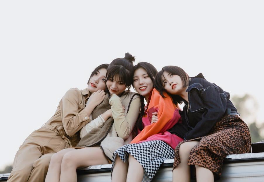 Bốn chị em Băng Thanh Ngọc Khiết.