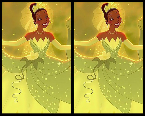 Tìm điểm khác biệt ở bộ váy của công chúa Disney - 4
