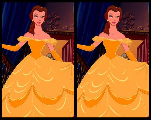 Tìm điểm khác biệt ở bộ váy của công chúa Disney - 6