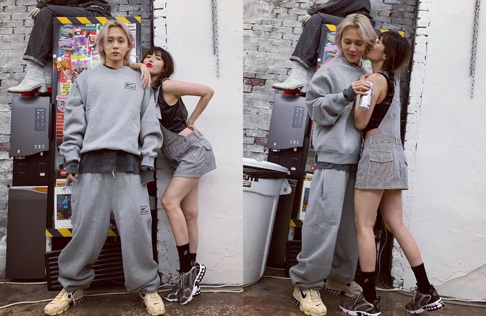 Hyuna - Dawn dính như sam mọi lúc mọi nơi. Nhiều fan kêu gào cặp đôi cưới ngay và luôn sau những hình ảnh ngọt sâu răng.