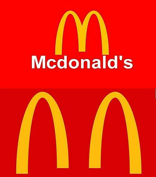 McDonald là tập đoàn tiên phong trong việc thiết kế logo cách biệt cộng đồng.