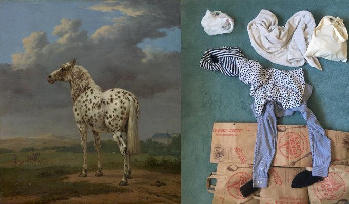 """<p class=""""Normal"""">Quy tắc khá đơn giản: người tham gia chọn tác phẩm nghệ thuật yêu thích, tìm ít nhấtba thứ quanh nhà và sử dụng chúng để tái tạo tác phẩm.</p>"""