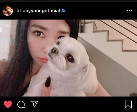 Tiffany đang ở nhà phòng dịch.