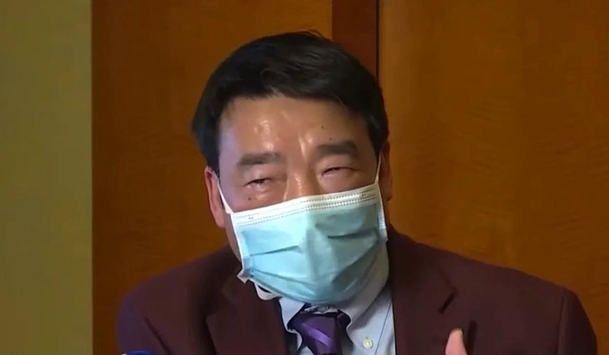 Bác sĩPeng Zhiyong.