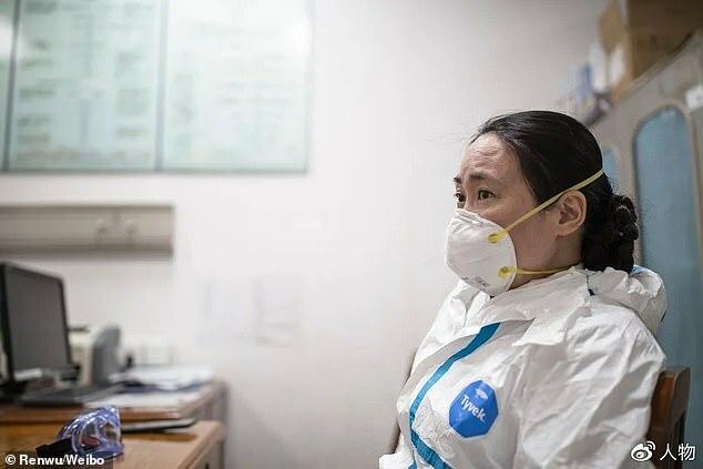 Bác sĩ Ai Fen, trưởng khoa cấp cứu tại Bệnh viện Trung ươngVũ Hán. Ảnh: People.