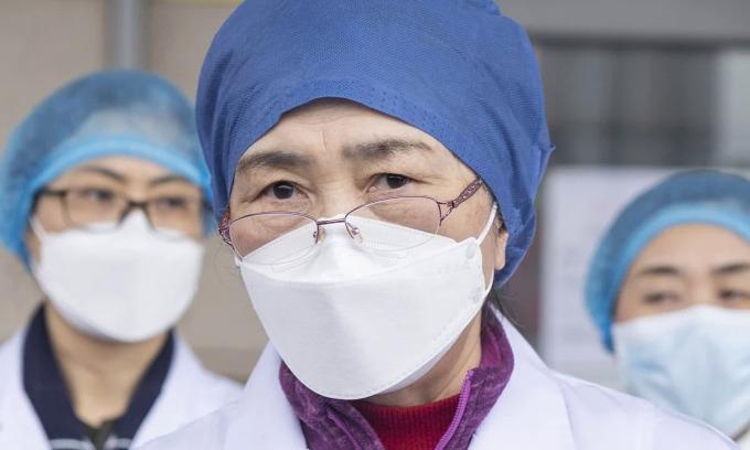 Nữ bác sĩ góp phần đẩy nhanh tiến độ phong tỏa Vũ Hán