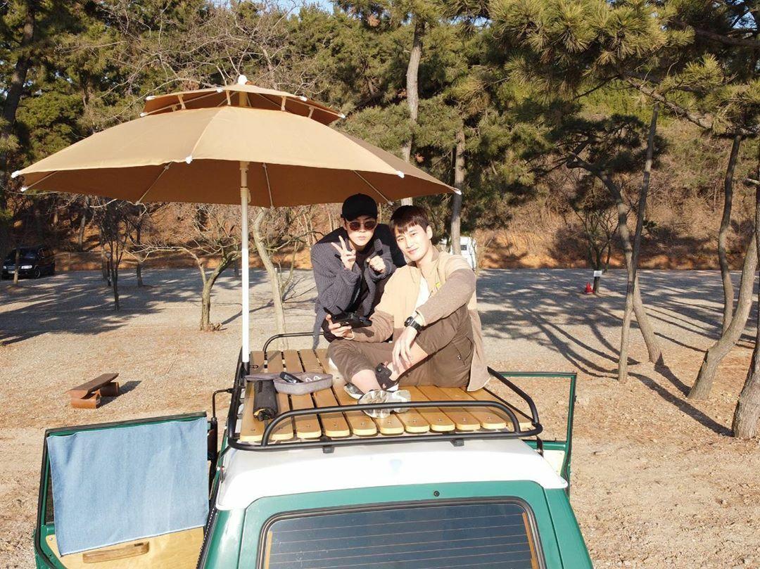 Se Hun cùng Ahn Bo Hyun có chuyến cắm trại thú vị trong chương trình I Live Alone.