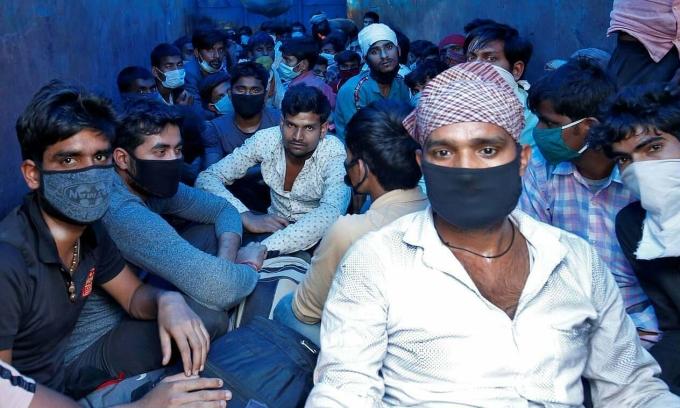 Hàng triệu người Ấn Độ sắp chết đói vì lệnh phong tỏa