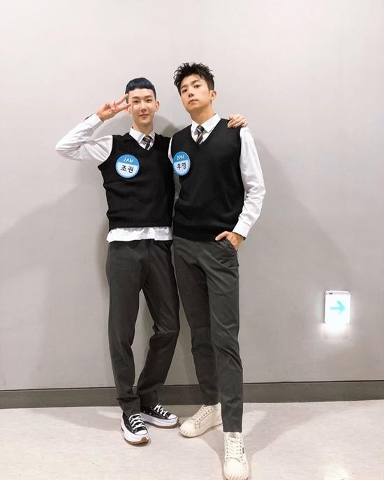 Jo Kwon (2AM) và Woo Young (2PM) tái ngộ trên show Knowing Bros.