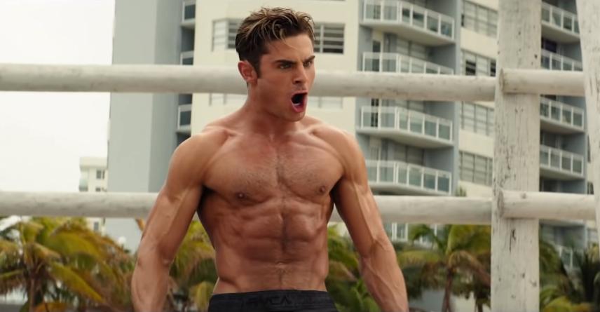Zac Efron hối hận vì cảnh cởi áo trong Baywatch