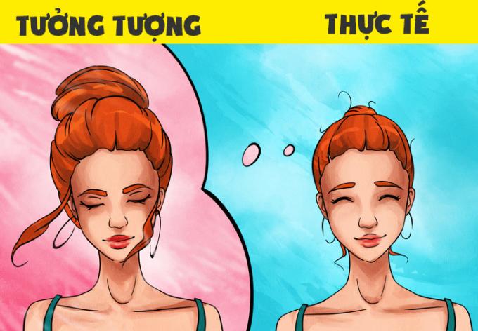 <p>Các nàng tóc dày thì búi tóc sẽ khó, nhưng tóc mỏng cũng không dễ dàng gì.</p>